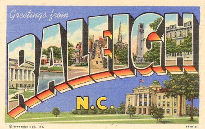 Raleighpostcard